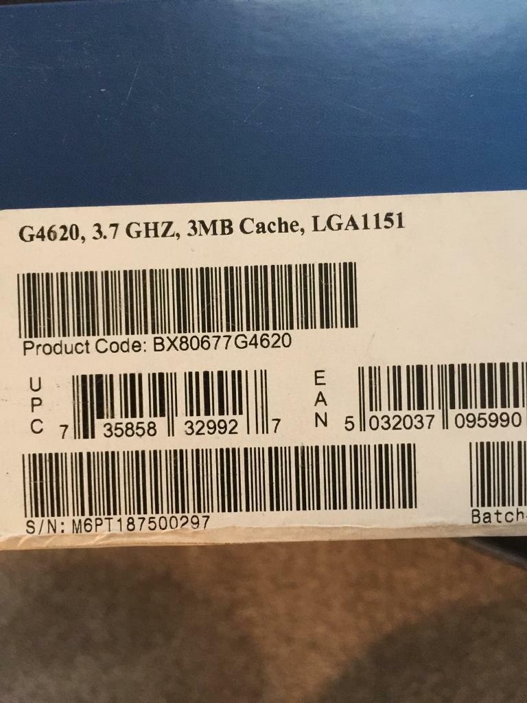 Asrock Z170 motherboard + Pentium G4620 | in Blaydon-on-Tyne, Tyne and Wear  | Gumtree