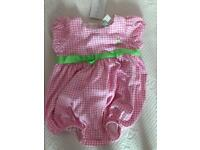 Ralph Lauren Girls baby grow