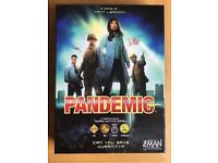 Pandemic board game as new condition