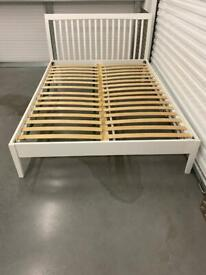 IKEA DOUBLE BED FRAME. Free delivery!!!