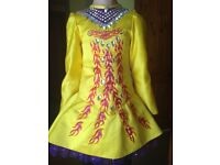 Solo Irish dancing dress