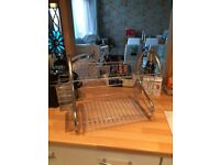 Chrome 2 Tiered Dishdrainer