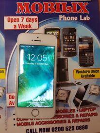iphone 5s white 16gb unlock good condition