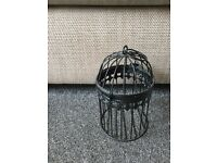 Small decorative bird cage