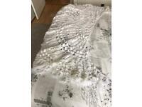 Beautiful Hand Crochet White Shawl
