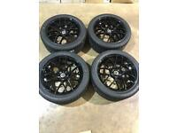 "Brand new set of 20"" alloy wheels and tyres Vw T5 T6 Transporter"