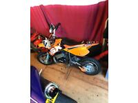 Ktm sx50 ideal first bike