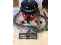 Henry hoover with 1 year guarantee