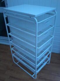 Ikea storage drawers.
