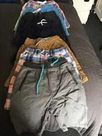 Boys next shorts size 8