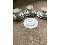 Colclough Floral Tea Set