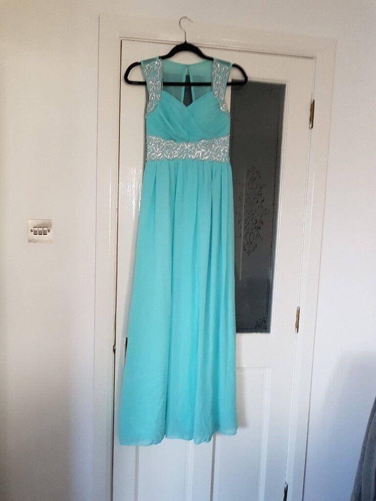 QUIZ Prom Dress in Aqua - size 10 | in Falkirk | Gumtree
