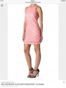 Bec and Bridge pink lace dress, size 6 Port Augusta West Port Augusta City Preview