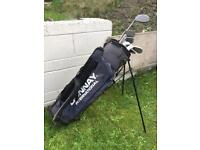 Donnay golf club set & bag