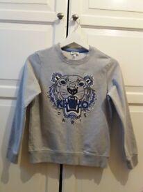 childrens grey kenzo jumper size 10-12