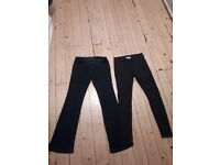 Maternity Size 8 - NEXT bootcoot jeans & new look jeggings