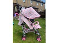 My Babiie Unicorn stroller