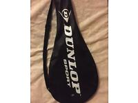 Dunlop Tennis Racquet with cover