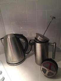 Kettle and coffee plunger/press
