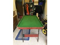 Snooker Table 6 x 3