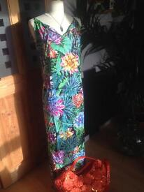 MARKS AND SPENCERS MAXI DRESS
