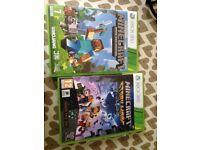 Xbox 360 Minecraft & minecraft story mode