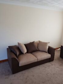 three seater and two seater settee suite
