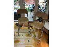 IKEA folded bar stools