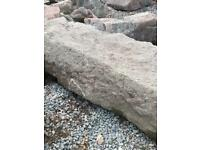 Granite lintel. 6ft long. Mantelpiece. Step.
