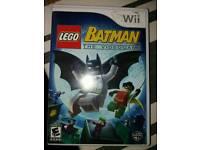 (FOR NINTENDO WII) Genuine Batman The Video game