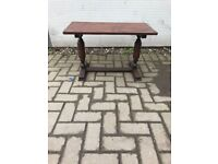 Occasional oak table