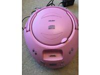 CD player pink girls