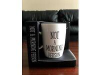 Not a morning person mug £5