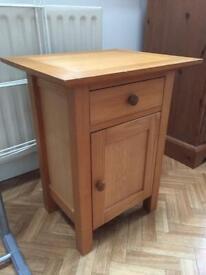 Small ash cabinet