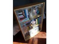 Wooden glass display cabinet FREE