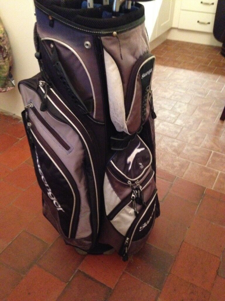 Golf bag and some clubs for sale