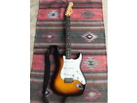 Fender Standard Mexican Sunburst 2011/12 Stratocaster (Rosewood Neck) + Extras