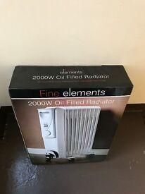 Fine Elements 2kW Oil Filled Radiator