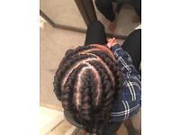 Afro Caribbean hairdresser