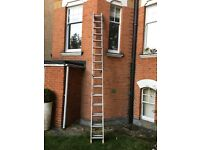 2 stage ladder in good condition