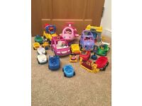 Fisher Price Little People Transport Bundle