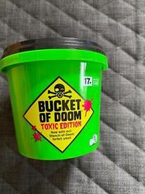 Bucket of Doom. Party Game- New