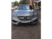 Mercedes E300 bluetech hybrid-diesel Amg line premium plus fully loaded