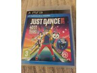 Just dance 18 for PS3