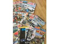 Set of 55 car magazines - classic & sport cars