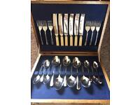 Vintage Retro Canteen of Cutlery