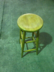 Wooden Stool in Used Condition