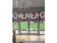 Laura Ashley Chiswick roman blinds