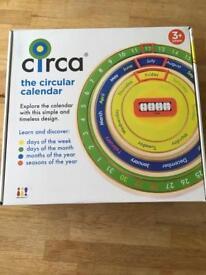 Circa Circular Calendar