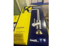 Bristan Lemon Easyfit kitchen mixer tap